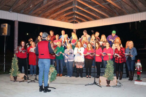Christmas in the park - adult choir